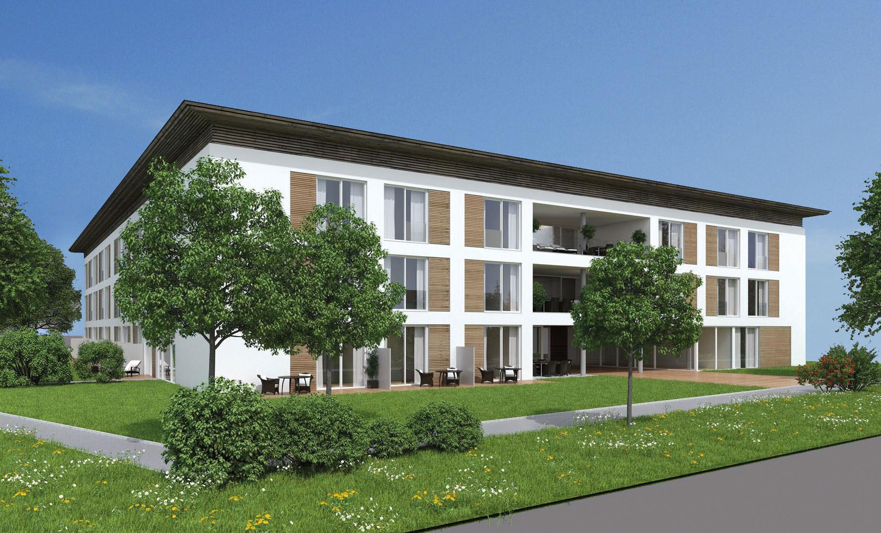 Appartements im EG mit Terrasse